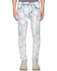 Ksubi   Van Winkle Bleached Skinny Jeans   Lyst