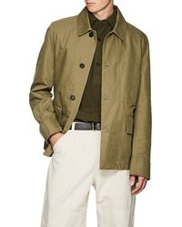 Margaret Howell - Cotton Twill Military Jacket - Lyst