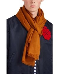 Barneys New York - Cashmere Twill Scarf - Lyst