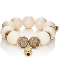 Carole Shashona - Golden Persephone Goddess Bracelet - Lyst