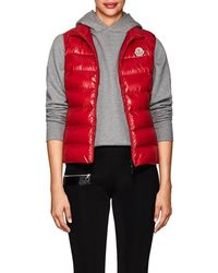 739f533bc Moncler Ghany Gilet in Black - Lyst