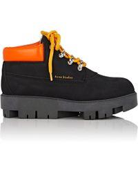 Acne Studios - Tinne Nubuck Ankle Boots - Lyst