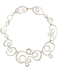 Judy Geib - Swoosh Collar Necklace - Lyst