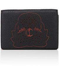 Christian Louboutin | Loubeka Leather Business Card Case | Lyst