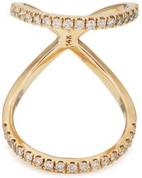 Carbon & Hyde - Olympia Knuckle Ring - Lyst