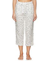 Castle & Hammock - Dot-print Cotton Drawstring-waist Pants - Lyst