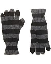 Barneys New York - Striped Cashmere Gloves - Lyst