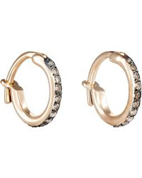 Ileana Makri - Huggie Hoop Earrings Size Na - Lyst