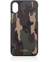 Vianel - Leather Iphone® X Case - Lyst