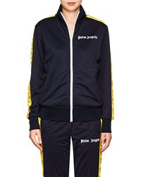 Palm Angels - Smiley-face Tech-jersey Track Jacket - Lyst