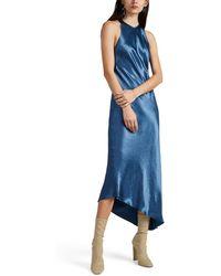 Nomia - Racerback Bias Dress - Lyst