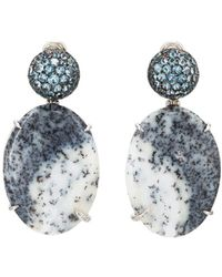 Sharon Khazzam - Abyna Drop Earrings - Lyst