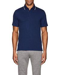Z Zegna - Techmerino Wool Piqué Polo Shirt - Lyst