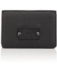 Christian Louboutin - Loubeka Medium Leather Card Case - Lyst