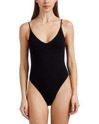 Skin - Narcissa Jersey V-neck Bodysuit - Lyst