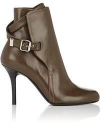 Chloé - Scott Leather Ankle Boots - Lyst