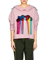 Mira Mikati - always Late Cotton Terry Hoodie - Lyst