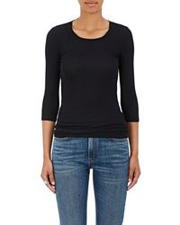ATM - Rib-knit T-shirt - Lyst