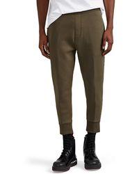 Neil Barrett - Camouflage-striped Neoprene Jogger Pants - Lyst