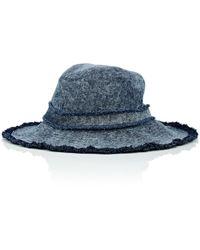 Eugenia Kim - Jordana Cotton Denim Hat - Lyst