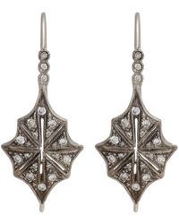 Cathy Waterman - Star Drop Earrings - Lyst