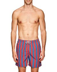 Solid & Striped - The Classic Striped Swim Trunks - Lyst