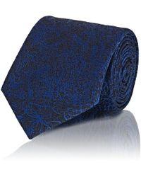 Brioni - Floral Silk-cotton Jacquard Necktie - Lyst