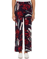 Warm | Resorting Floral Crepe Trousers | Lyst