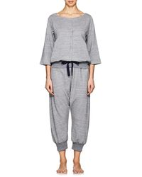 Castle & Hammock - Mélange Cotton Jumpsuit - Lyst