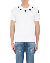 Givenchy - Star & Numbers Jersey T-shirt - Lyst