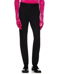 Balenciaga - Slim Stirrup Trousers - Lyst