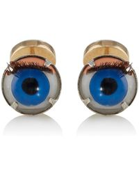 Samuel Gassmann - Antique Doll Eye Cufflinks - Lyst
