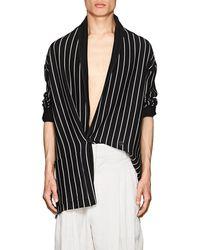 Haider Ackermann - Striped Wool - Lyst