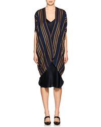 Zero + Maria Cornejo - Mala Striped Canvas Coat - Lyst