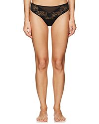 Hanro - Mavie Lace & Mesh Bikini Briefs - Lyst