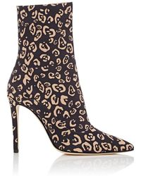 Altuzarra - Cady Leopard-print Ankle Boots - Lyst