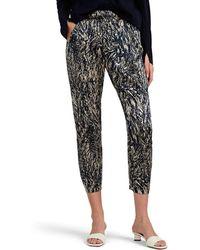 Zero + Maria Cornejo - Gabi Hair-print Stretch-silk Pants - Lyst