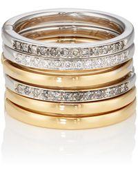 Roberto Marroni - Diamond Six-band Ring - Lyst