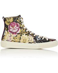 Gucci - Major Jacquard Sneakers - Lyst