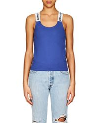 Paco Rabanne - Logo Stretch-jersey Tank - Lyst