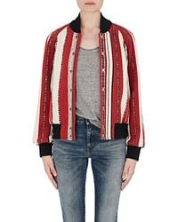 Saint Laurent - Baja-striped Wool - Lyst
