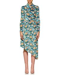 Vivetta - De Heem Floral Velvet Dress - Lyst