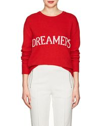 Alberta Ferretti - dreamers Wool-cashmere Sweater - Lyst
