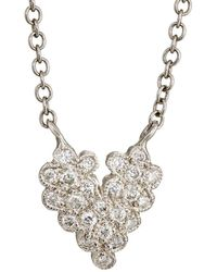 Cathy Waterman - Heart Pendant Necklace - Lyst