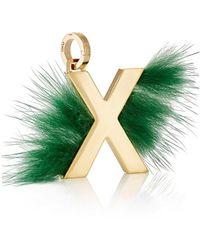 Fendi - Abclick X Bag Charm - Lyst