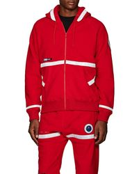 Undercover - Red Hoodie With Reflective Details - Lyst