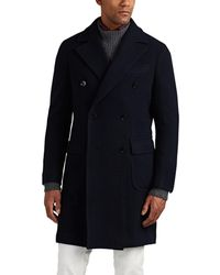 Wool Jacket Lyst Breasted Peacoat Double Ring P0w6xq5