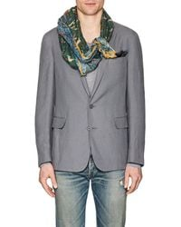 Drake's - Hunting-print Cotton - Lyst