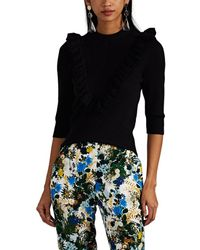 Erdem - Thomasine Cotton Sweater - Lyst