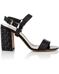 Valentino | free Rockstud Spike Leather Sandals | Lyst